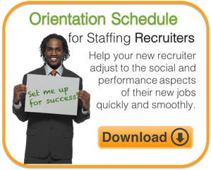 Tool - Orientation Schedule Recruiter CTA